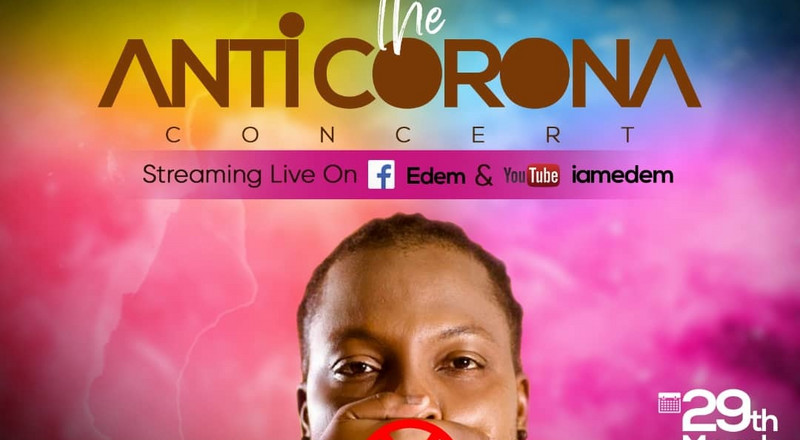 The Anticorona Concert: Edem to hold free online concert March 29