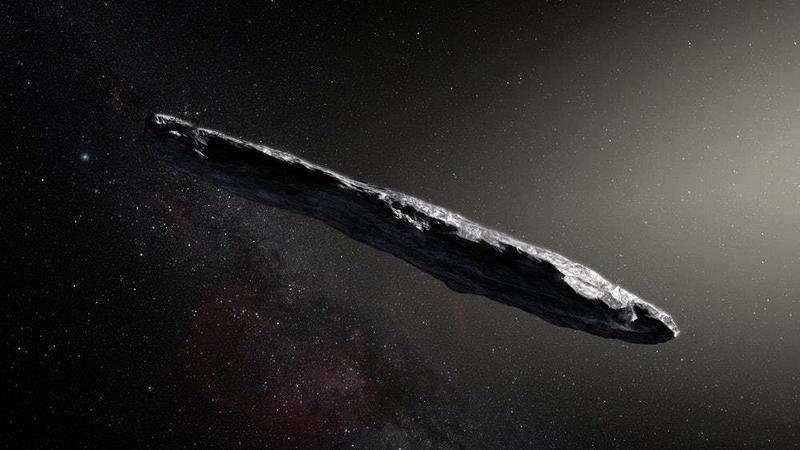 Oumuamua - pierwsza międzygwiezdna asteroida ujawnia swoje sekrety