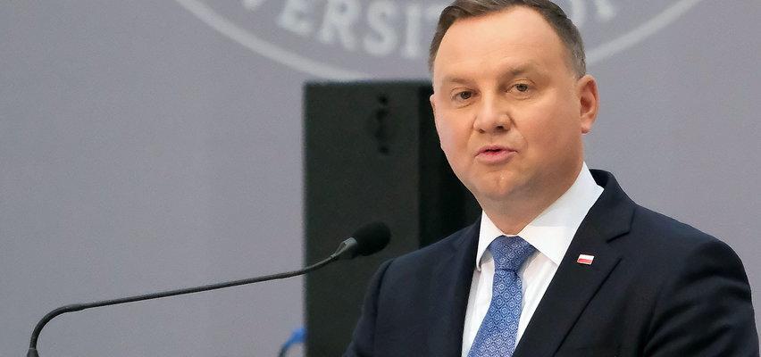 """Prezydent Andrzej Duda mówi o Polsce, jak o """"chłopcu do bicia"""" i ostrzega kraje Unii"""