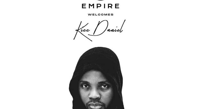 Kizz Daniel signs new deal with EMPIRE