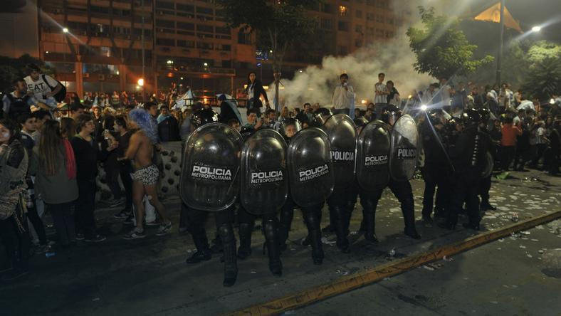 Zamieszki w Buenos Aires