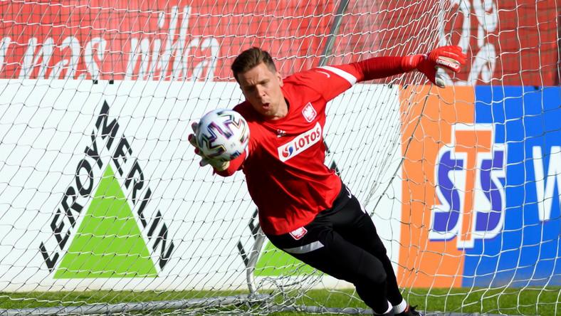 Bramkarz piłkarskiej reprezentacji Polski Wojciech Szczęsny