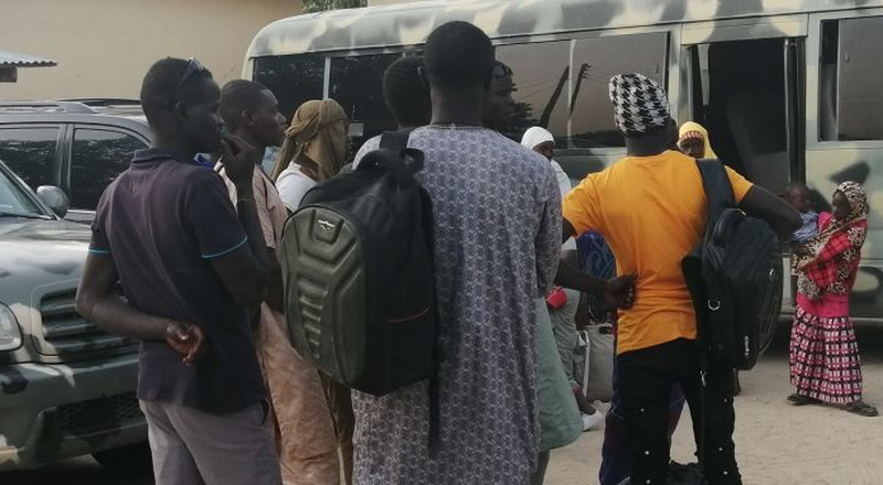 Freed 'repentant' Boko Haram members arrive Borno for rehabilitation