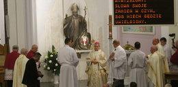 Kropla krwi papieża w rzeszowskiej katedrze