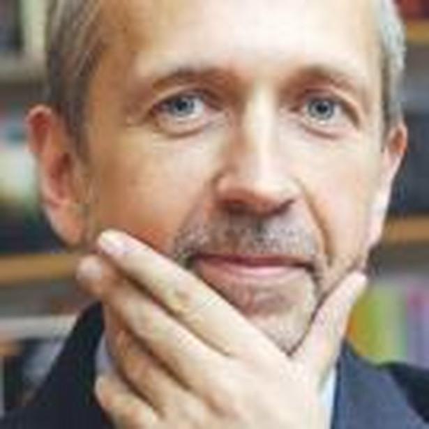 Dariusz Rott, profesor, członek prezydium Rady Głównej Szkolnictwa Wyższego Fot. Tomasz Jodłowski