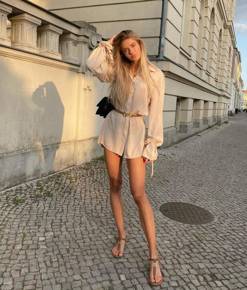Choć twierdzi, że ze sportu nie zrezygnuje, to kto wie, czy po Milan Fashion Week nie zmieni zdania.