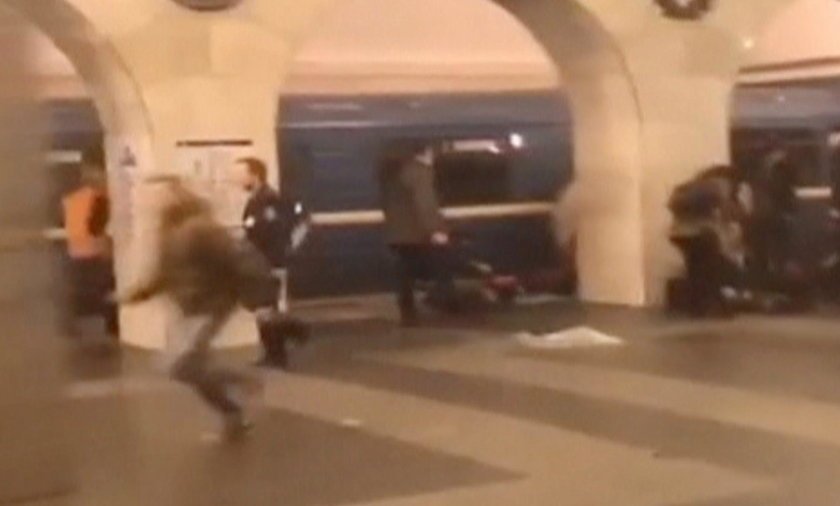 Wybuch w rosyjskim metrze