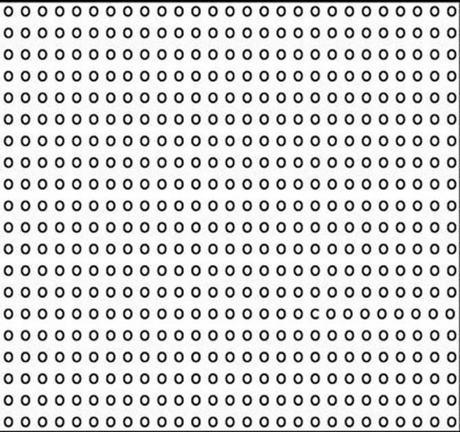 Možete li da nađete slovo c?