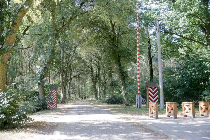 Szlaban graniczny w Baranowicach