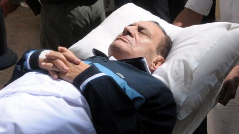 Były prezydent Egiptu zapadł w śpiączkę