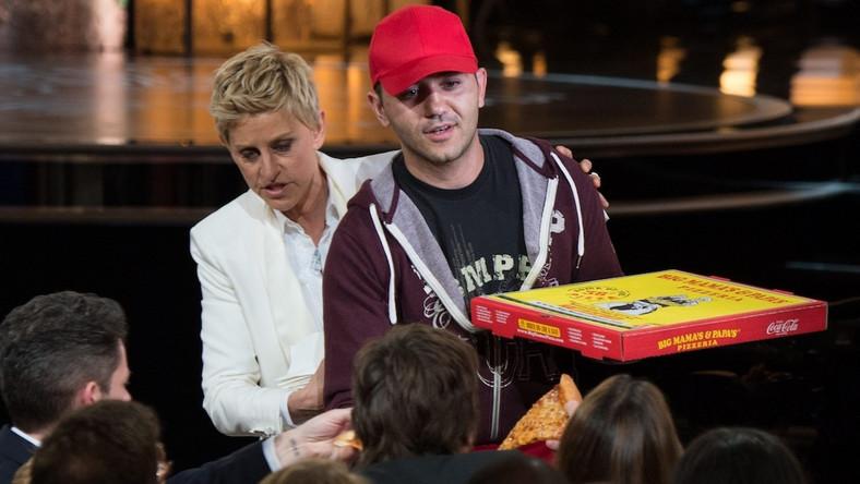 Ellen DeGeneres, Edgar Martirosyan i oscarowa pizza