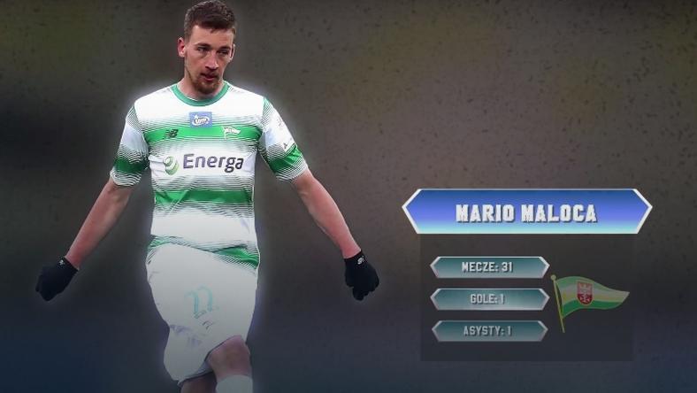 Mario Maloca drugim środkowym obrońcą jedenastki sezonu