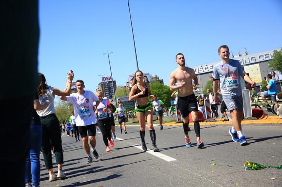 Trčanje po Novom Beogradu