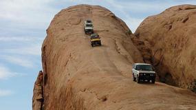 Niesamowita skała Lion's Back i inne atrakcje dla miłośników off-roadu w pobliżu Moab