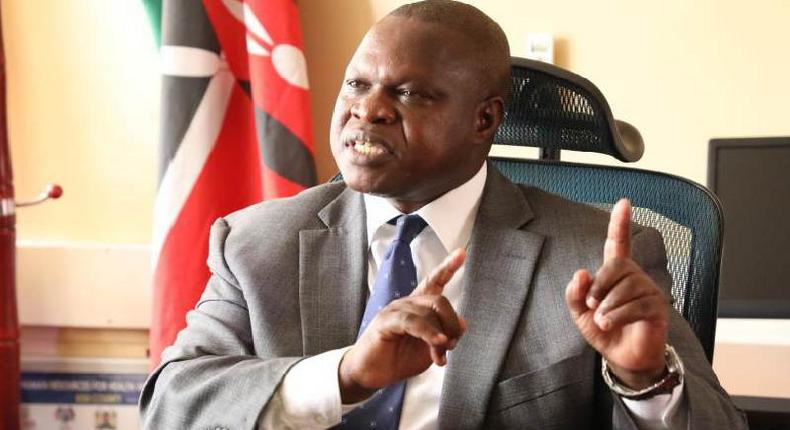 Kisii Deputy Governor Joash Maangi