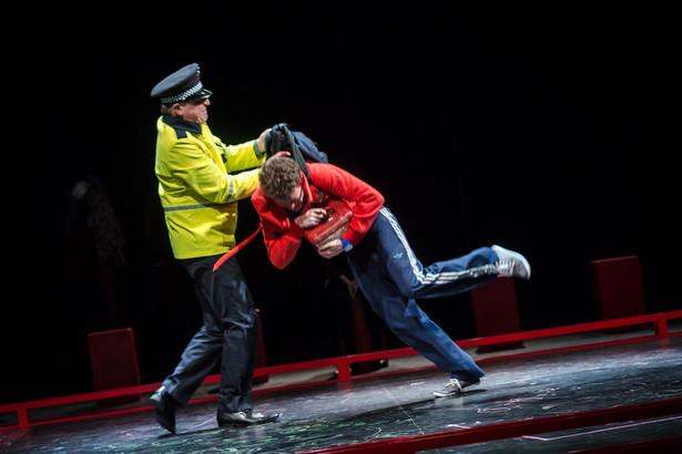 """""""Dziwny przypadek psa nocną porą"""", Teatr Dramatyczny, fot. Kasia Chmura"""
