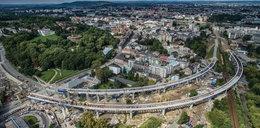 Tak wygląda nowa estakada kolejowa w Krakowie