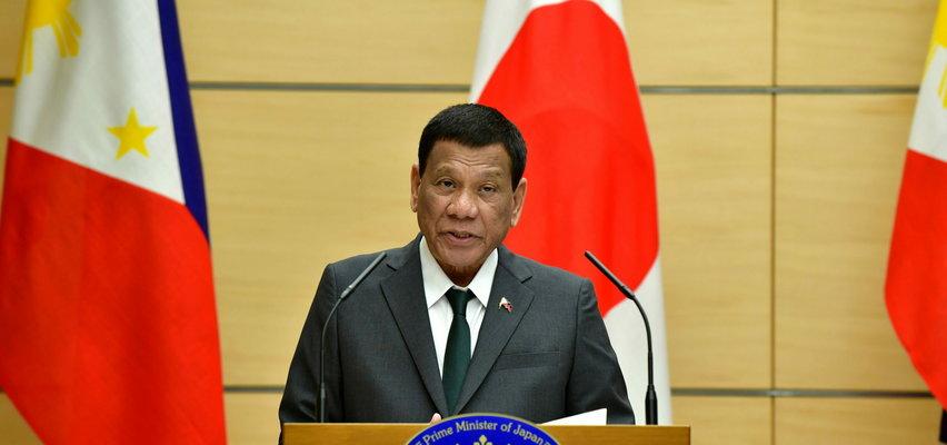 """""""Zaszczep się albo wsadzę cię do więzienia"""". Prezydent Filipin grozi niezaszczepionym obywatelom więzieniem!"""