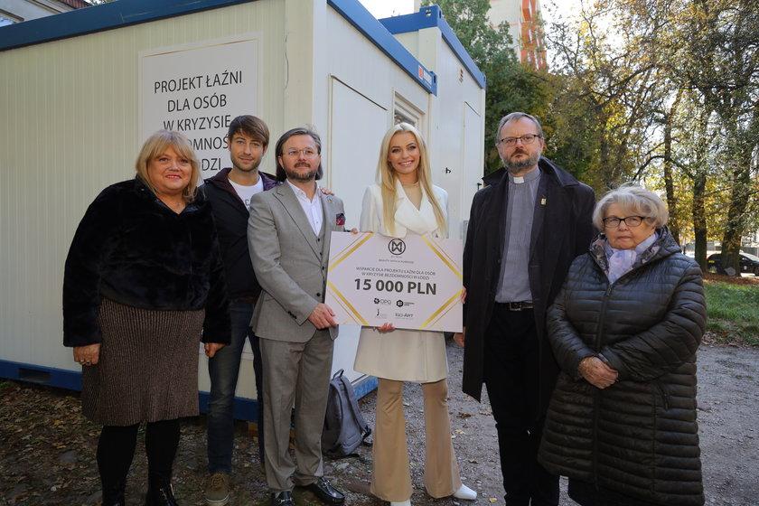 Pierwsza mobilna łaźnia dla bezdomnych w Łodzi