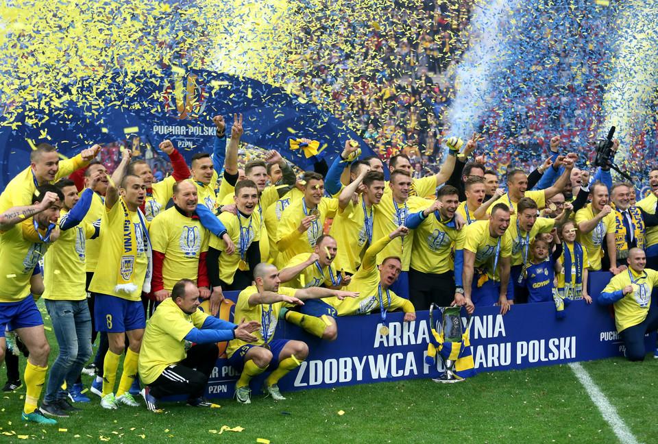 Puchar Polski: Arka Gdynia sprawcą niespodzianki - Sport