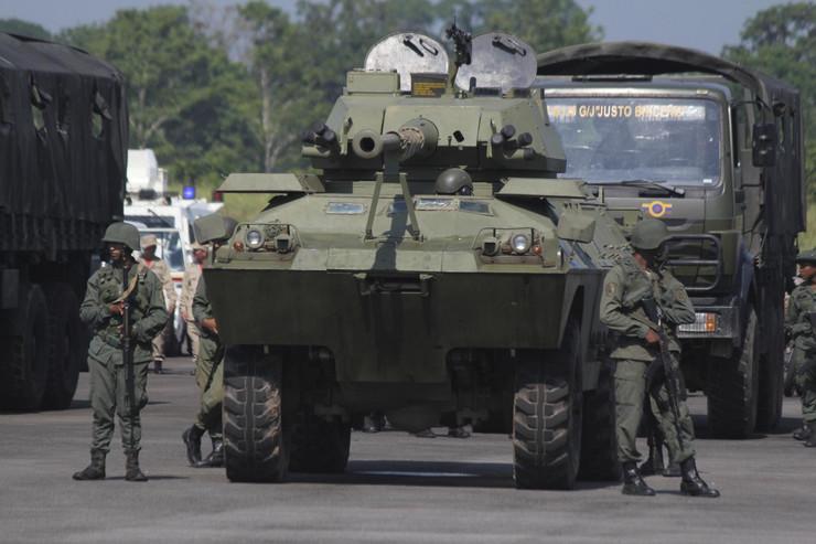 Vojska Venecuele 2 foto Tanjug AP
