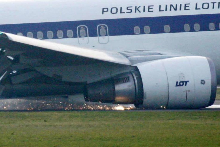 Film z wnętrza Boeinga 767!
