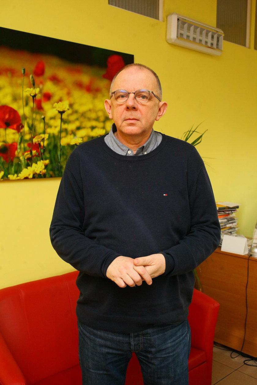"""Janusz Szostak - dziennikarz śledczy i szef fundacji """"Na tropie"""""""