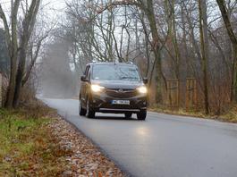Opel Combo 1.5 diesel z automatem - pudełko praktyczne i oszczędne