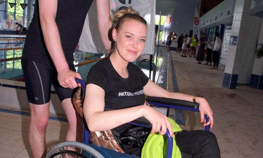 Ewelina Ruckgaber, aktorka Polsatu, miała wypadek.