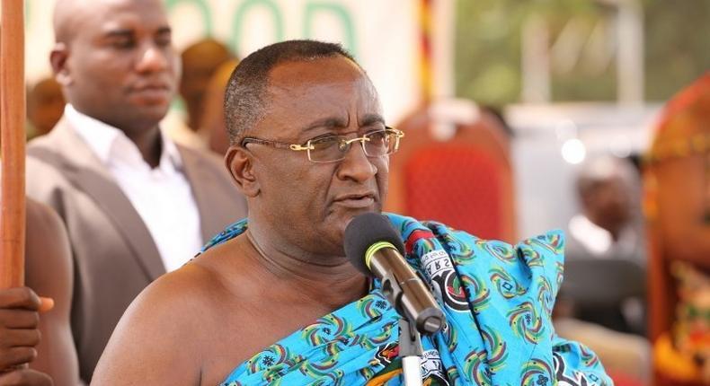 Ghana's Agric Minister, Dr Owusu Afriyie Akoto