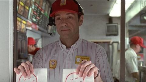 "Kevin Spacey w ""American Beauty"""