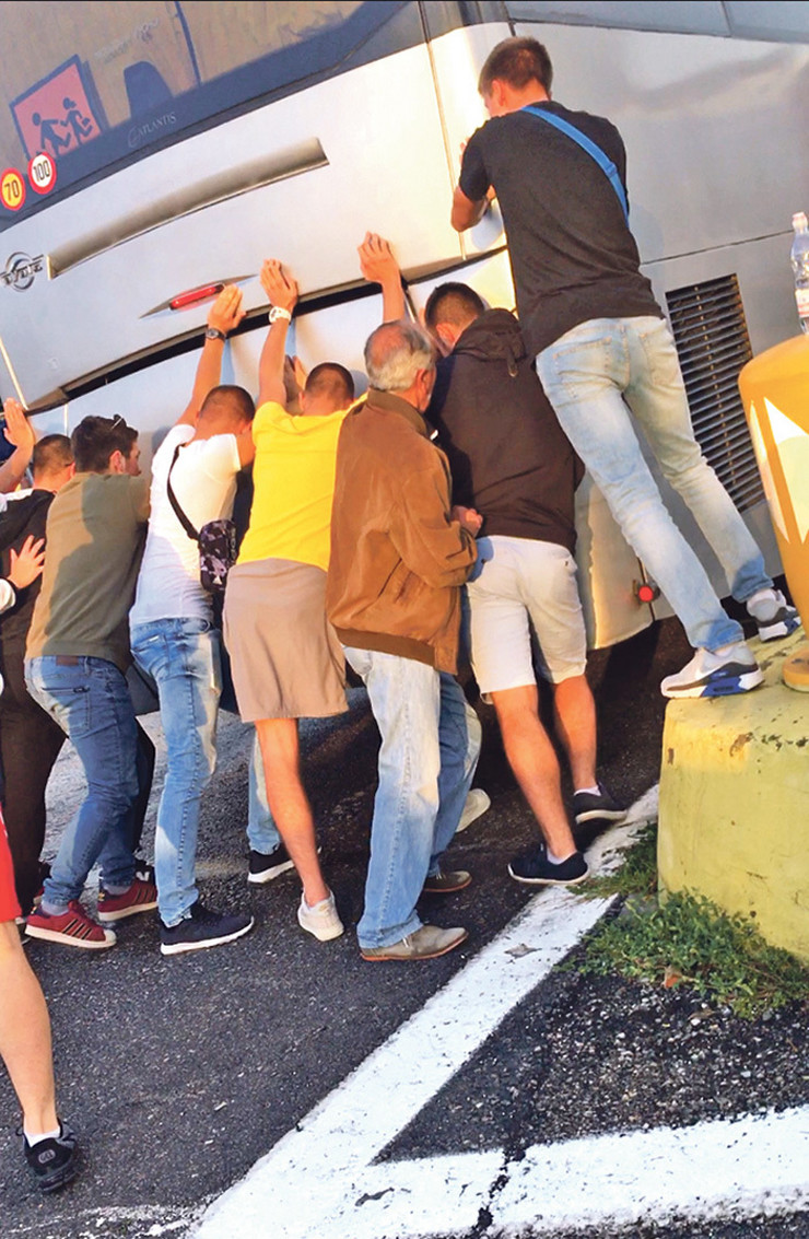 maturanti, Arilje, pokvaren autobus