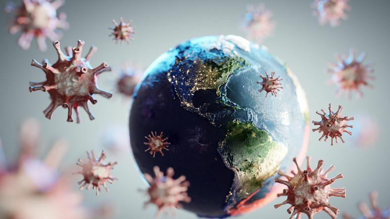 Koronawirus, Covid-19 na świecie