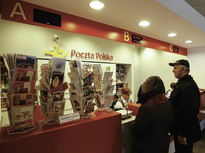 Poczta Polska liczy, że przychody ze sprzedaży w placówkach wzrosną o 25 proc. rdr