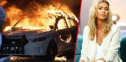 """Sandra Kubicka o zamieszkach w Miami. """"Widziałam płonące radiowozy"""" [WIDEO]"""