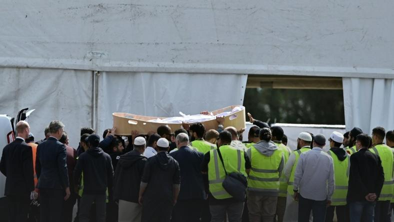 The first funerals were held Wednesday, but only six of the 50 victims have been returned to their families so far