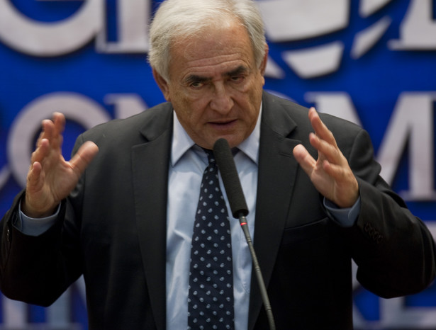 Dominique Strauss-Kahn, dyrektor MFW