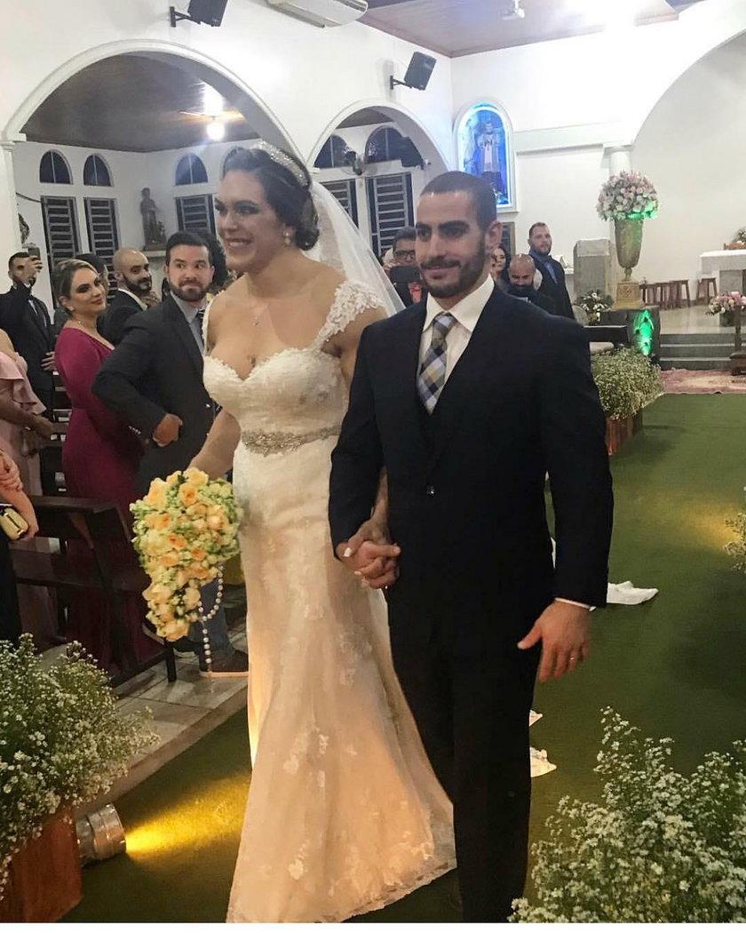 Brazylia: Gabi Garcia wzięła ślub. To nagranie zaskoczyło internautów