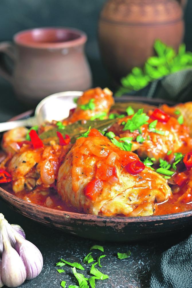 Piletina u sosu od paprika