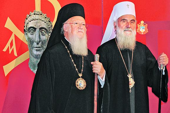 Patrijarsi Vartolomej i Irinej uputili su pozive za svečanosti u bratskom tonu