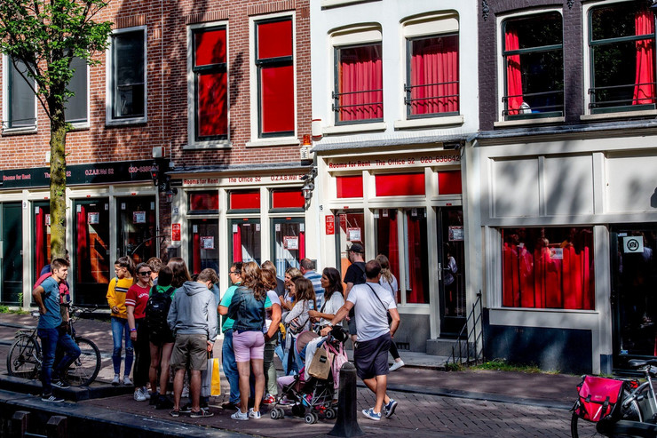 amsterdam, crveni fenjeri, prostitucija