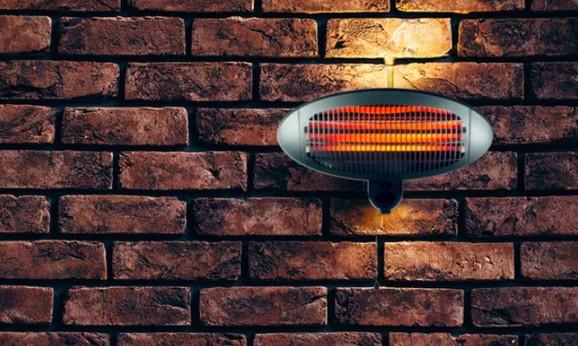 Zidni električni grejač