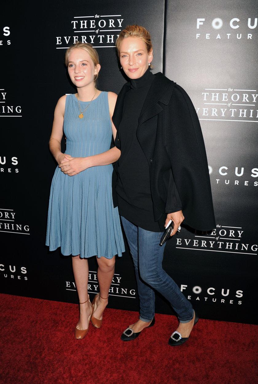 Uma Thurman z córką