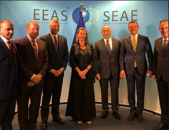 Kosovska delegacija u Briselu