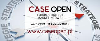 Case Open 2016: Forum Strategii Marketingowej już 14 kwietnia