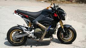 Albo grubo, albo wcale - Honda MSX 125 z silnikiem od Ducati 1199 Panigale R