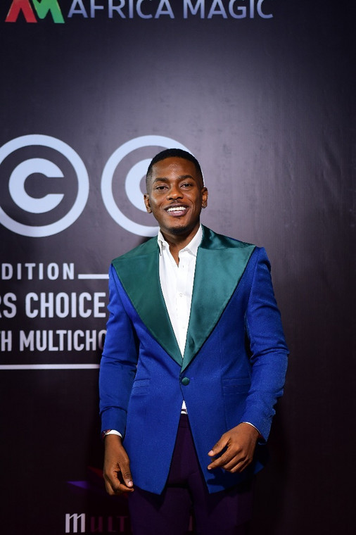 Timini Egbuson at the 2020 AMVCA nominee cocktail party [Instagram]