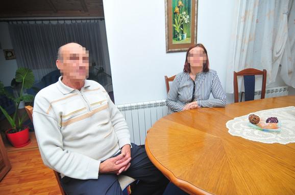 Biljana sa ocem Milanom