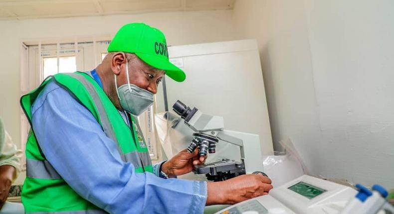 Kano State governor, Abdullahi Ganduje [KNSG]