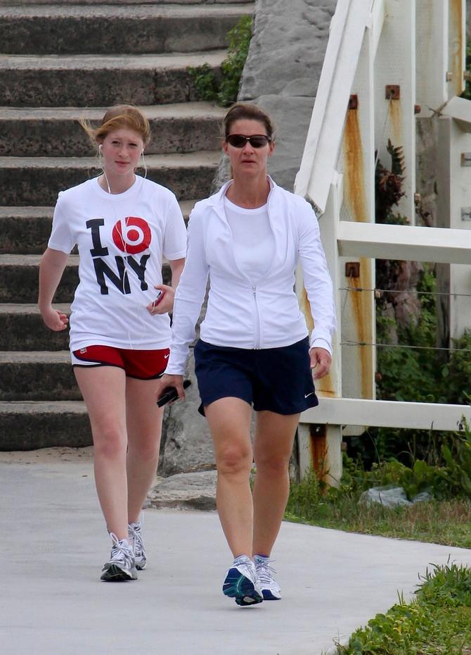 Melinda sa ćerkom Fibi